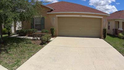 4 Bed home with private pool, close to Disney, free Wi-Fi