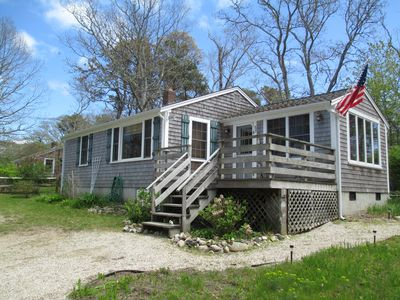 Photo for Wonderful Cape Cod hideaway with private association beach!