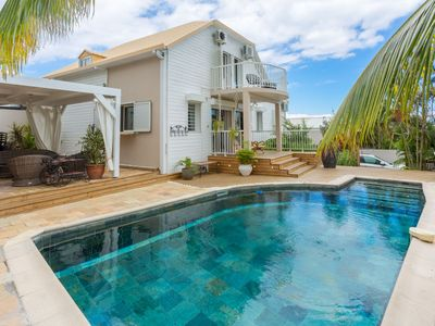 Photo for Beautiful luxury villa classified 5 stars / heated pool in St Gilles les Bains
