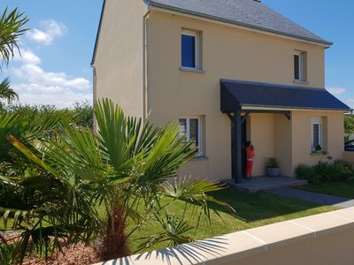Photo for recent house, facing south, enclosed garden, wild coast less than 1km