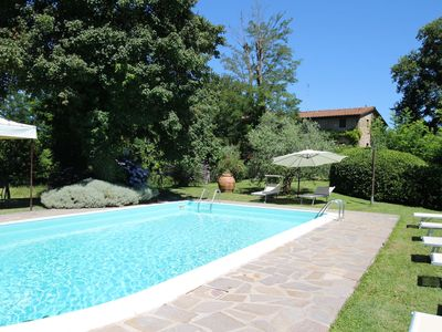 Photo for Beautiful private villa with WIFI, private pool, TV, patio, pets allowed, panoramic view and par...