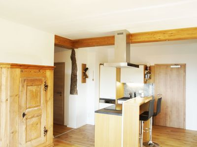 Photo for Apartment on the ALM surrounded by mountains and meadows on 1600hm