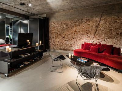 Photo for Borges Place - Beautiful loft in the Beautiful Plaza San Martín