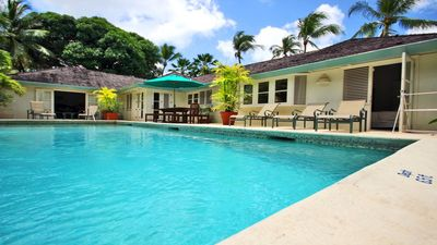 Photo for Great Value 4 Bedroom Villa With Private Pool - Only A Short Walk To Gibbs Beach