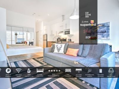 Photo for Downtown 304 |60% Off| Suny Studio +City Center + Ideal Family | Self-Check-In | Liv MTL