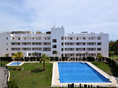 Photo for Nice apartment only 600 m from the beach of Mijas and with large sun terrace