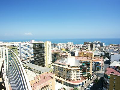 Photo for TORREMOLINOS PENTHOUSE 18 FLOOR SEA VIEW - Apartment for 4 people in Torremolinos