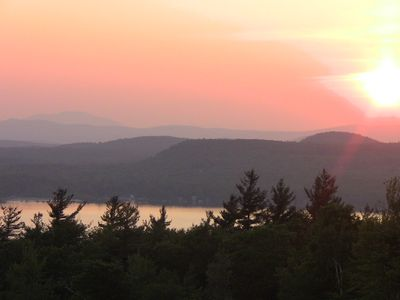 Photo for Log Home with spectacular views and privacy