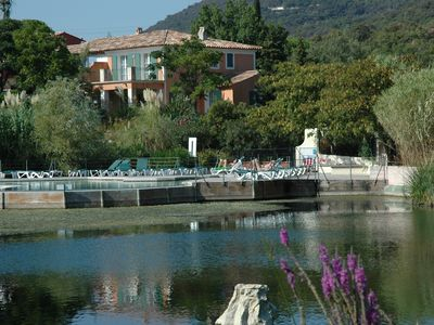 Photo for Grimaud-Les Restanques - 2 rooms sea view