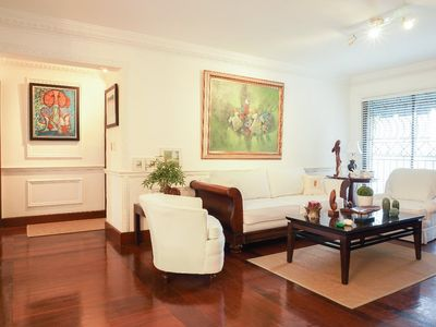 Photo for Tres robles 3c · ☆Glamorous☆AC-WiFi-parking-HotWater-TV SDQRentals