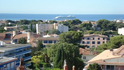 Photo for CANNES HEIGHTS 2 BEDROOM SEA VIEW