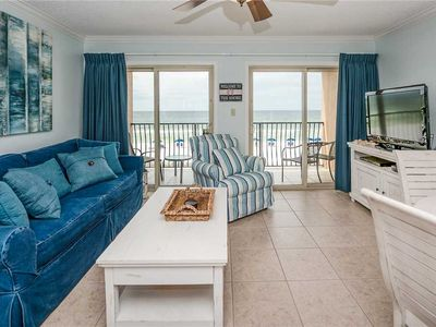 Photo for Quaint 3 story building, right on the BEACH! 19- Coral Reef Club