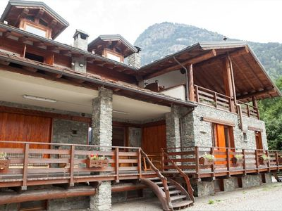 Photo for The chalet is situated in a quiet and sunny area of Antey Saint André