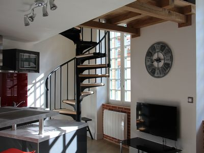 Photo for DUPLEX 40m2 in the heart of Toulouse, near the Garonne