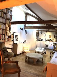 Photo for A beautiful apartment in the roofs at the CENTER of Paris