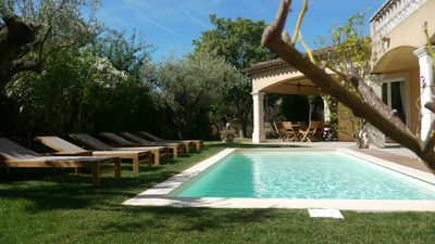 Photo for MAMATAÏ Charming and Standing 300m from the sea, pool and garden