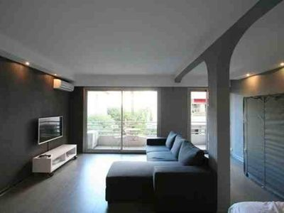 Photo for Between the Carlton and the Martinez, calm studio 100m from the golden square Croisette, Palais residence Rouaze