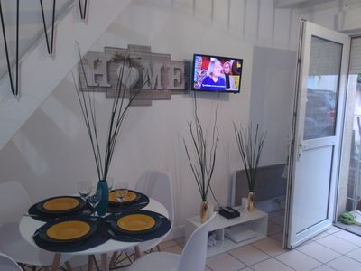 Photo for 25 min from Paris - F2 contemporary duplex downtown