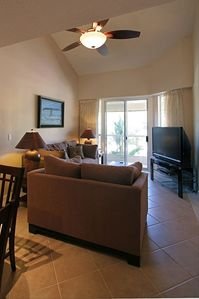 "Main Living Area w/50"" DLP HDTV"