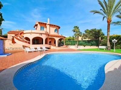 Photo for Vacation home Casa Roma  in Calpe (Alicante), Costa Blanca - 9 persons, 4 bedrooms