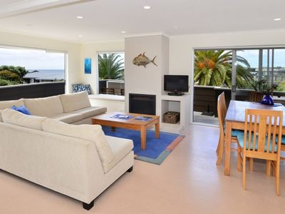 Photo for Omaha Sands- Elevated sea views and short walk to the beach