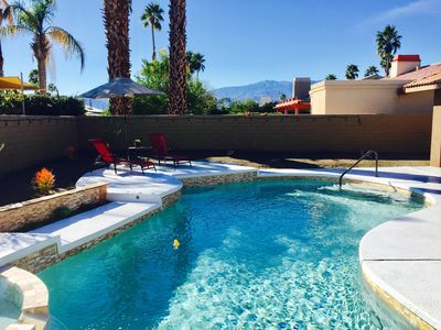 Photo for Private Palm Desert Getaway- One Level Home w/ Pool & Spa - Golf & Hiking close