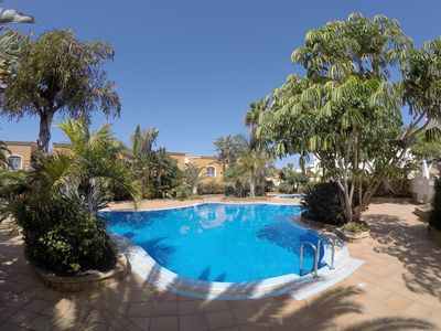 Photo for 3 bedroom villa with wifi in family complex with pools