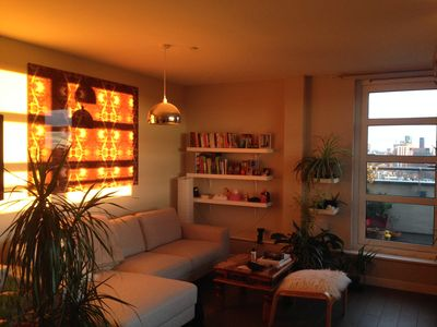 Photo for Spacious modern apartment with super fast WiFi, balcony and amazing view