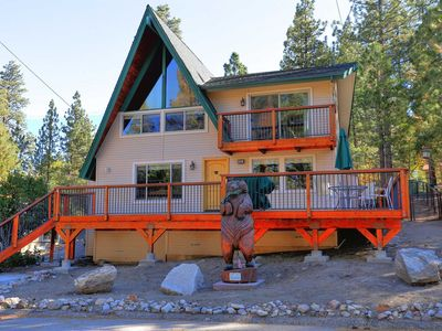 Photo for House in Big Bear Lake with Parking, Internet, Washing machine, Balcony (983587)