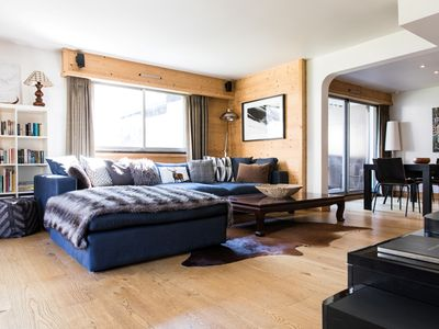 Photo for Clos du Savoy luxury apartment in Chamonix right by the slopes