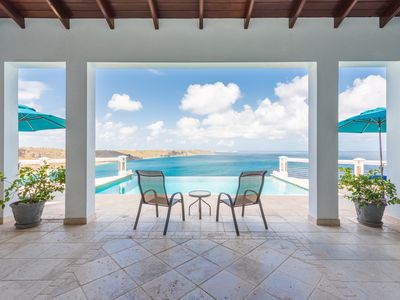Photo for ANGUILLA! This is the #1 Guest Rated Villa in Caribbean on VRBO  NO WORRIES!!!