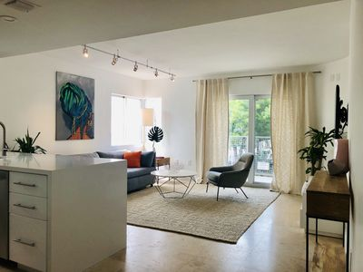 Photo for NEW! 2BED 2BATH Modern Condo w Balcony + Parking Space- South of 5th Rare Find