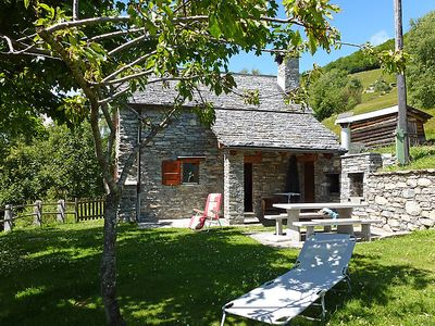Photo for Vacation home Cà du Papa 1 in Intragna - Centovalli - 4 persons, 2 bedrooms