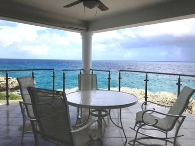Photo for 2BD oceanfront condo, internet, washing machine, cable TV, pool, sea views!