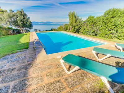 Photo for Maximum sea view is guaranteed! Lovely villa with private pool.