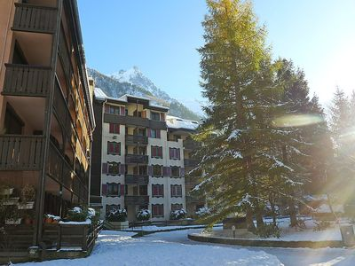 Photo for Apartment in the center of Chamonix with Lift, Parking, Internet, Balcony (323822)