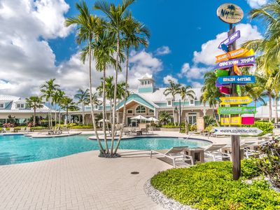"""Photo for """"Special Rates June-November"""" Naples Reserve, Water View, Garage, Golf Cart."""
