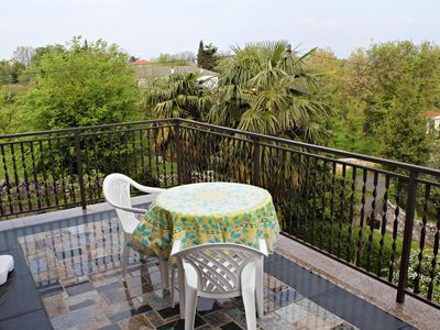 Photo for Two bedroom apartment with terrace Malinska, Krk (A-5284-a)