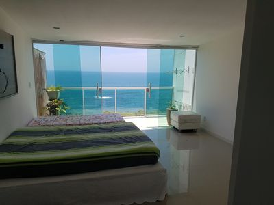 Photo for House in costazul beautiful view to sea and beach of black sands
