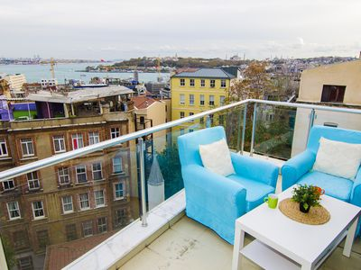 Photo for PENTHOUSE WITH UNIQUE SEA VIEW NEAR GALATA TOWER
