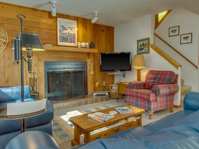 Photo for Cozy home w/ private hot tub & mountain views! Only seven minutes to the slopes!