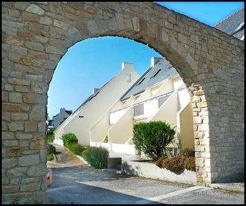 Photo for Duplex Apartment 100 m from the beach Brittany Crozon Pentrez Sea Ocean