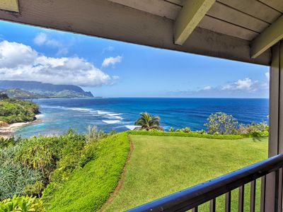 Photo for Relaxing Princeville Condo with Northshore Views!