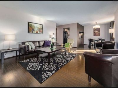 Photo for Amazing and spacious condo at 17ave Uptown!