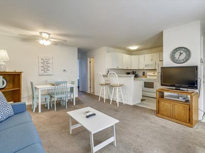 Photo for Cute & Cozy in Mid-Town OC (68th St) - One Building in from the Beach!