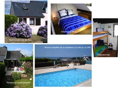 Photo for GUIDEL BEACHES WITH GARDEN AND SWIMMING POOL IN THE RESIDENCE