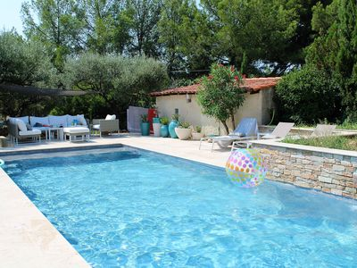 """Photo for Villa Rose Leonie - 5BDR for 10 - close to the """"Anglaise"""" Beach"""