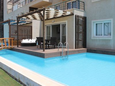 Photo for Luxury Apartment With Private Pool, Offers Beach, Sea And Mountain Views