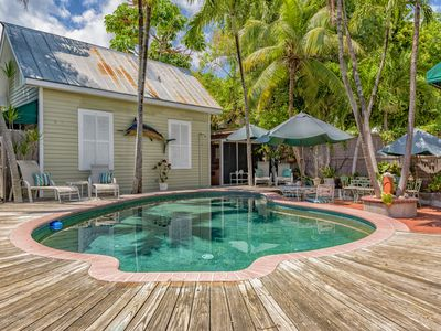 Photo for Island Pearl-Romantic Key West Cottage- Shared Pool