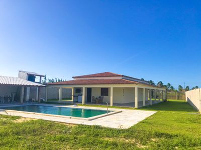 Photo for House with swimming pool at 200m beach